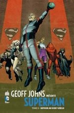 Couverture Retour au XXXIe siècle - Geoff Johns présente Superman, tome 3