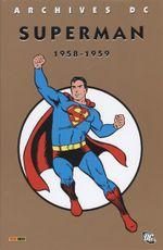 Couverture Superman - DC Archives T1 1958-1959