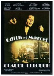 Affiche Edith et Marcel