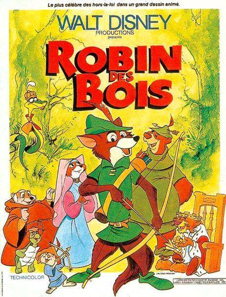 Robin des bois  Longmétrage danimation (1973  ~ Robin Des Bois Le Film