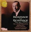Pochette Rachmaninoff Plays Rachmaninoff: The 4 Piano Concertos / Rhapsody on a Theme of Paganini