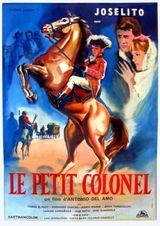 Affiche Joselito - Le petit colonel