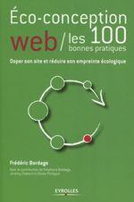 Couverture Éco-conception web / les 100 bonnes pratiques