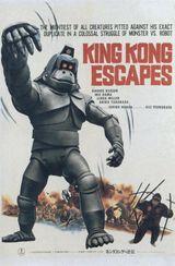 Affiche King Kong s'est échappé