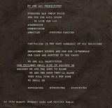 Pochette We Are All Prostitutes (Single)