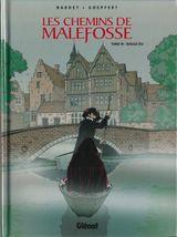 Couverture Rouge feu - Les Chemins de Malefosse, tome 19