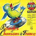 Pochette Rondes et chansons de France n° 1 (EP)