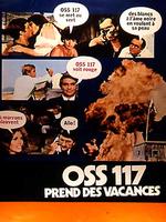 Affiche OSS 117 prend des vacances