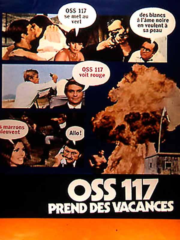 Oss 117 Prend Des Vacances Film 1970 Senscritique
