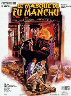 Affiche Le masque de Fu Manchu