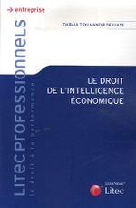 Couverture Droit de l'intelligence économique