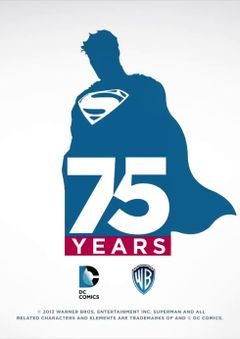 Affiche Superman 75th Anniversary Animated Short