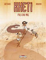 Couverture Au-delà des portes - Kheti, fils du Nil, tome 1