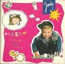 Pochette Alison (Single)