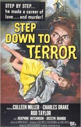 Affiche Step Down To Terror