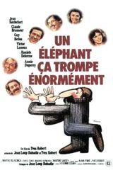 Affiche Un éléphant, ça trompe énormément
