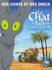 Affiche Le Chat du rabbin
