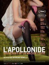Affiche L'Apollonide, souvenirs de la maison close