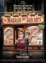 Affiche Le Magasin des suicides