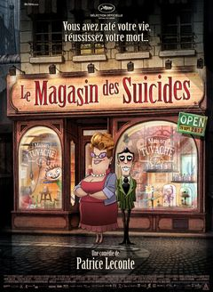 Affiche Le Magasin des suicides