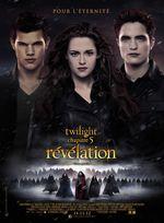 Affiche Twilight : Chapitre 5 - Révélation, 2e partie