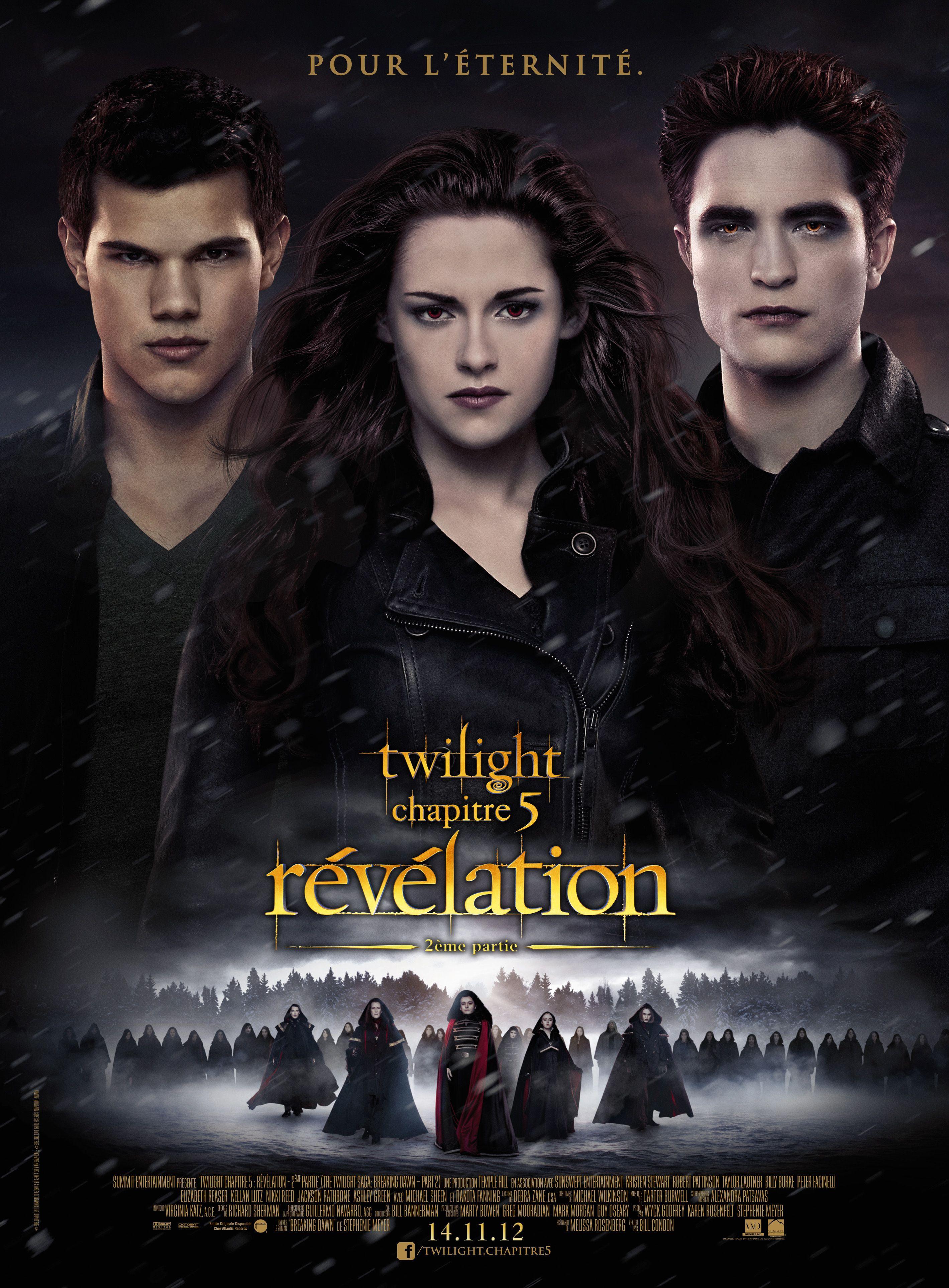 Twilight Chapitre 5 Revelation 2e Partie Film 2012