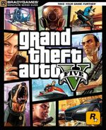 Couverture Grand Theft Auto V - Guide officiel