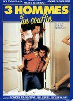 Affiche Trois hommes et un couffin