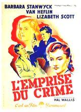 Affiche L'Emprise du crime