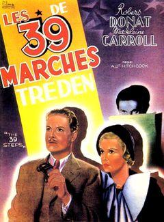 Affiche Les 39 Marches