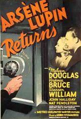 Affiche Le Retour d'Arsène Lupin