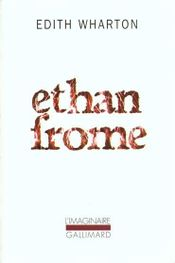 Couverture Ethan Frome