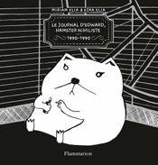 Couverture Le journal d'Edward, hamster nihiliste