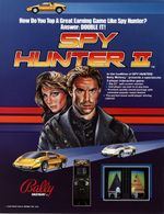 Jaquette Spy Hunter II
