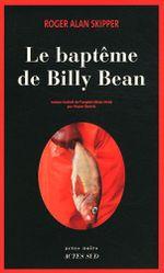 Couverture Le Baptême de Billy Bean