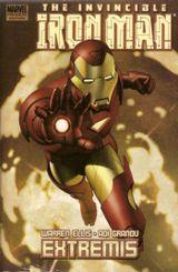 Couverture Iron Man: Extremis