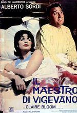 Affiche Il maestro di Vigevano