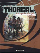 Couverture Le Cycle de Qâ - Thorgal, tomes 9 à 13