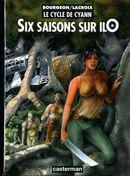 Couverture Six Saisons sur ilO - Le Cycle de Cyann, tome 2