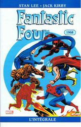 Couverture 1968 - Fantastic Four : L'Intégrale, tome 7
