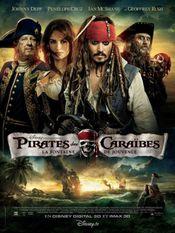 Affiche Pirates des Caraïbes : La Fontaine de Jouvence