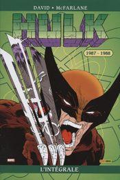 Couverture 1987-1988 - Hulk : L'Intégrale, tome 2