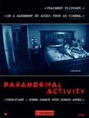 Affiche Paranormal Activity
