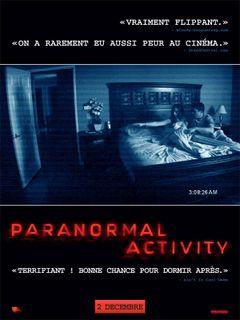 Affiche Paranormal Activity