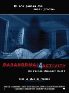 Affiche Paranormal Activity 4