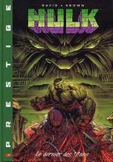 Couverture Le Dernier des Titans - Hulk, tome 1