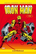 Couverture 1968 - Iron Man : L'Intégrale, tome 4