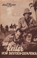 Affiche Die Reiter von Deutsch-Ostafrika