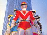Affiche Chôjin Sentai Jetman - Jetman, l'escadron des hommes-oiseaux