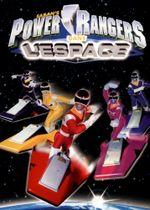 Affiche Power Rangers dans l'espace